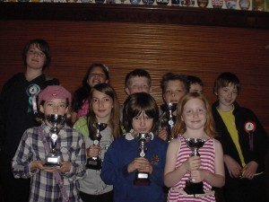 Just a few of Hebden Bridge Chess Club's Junior Members