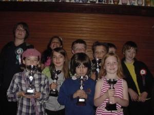 Just a few of Hebden Bridge Chess Club's Junior Members