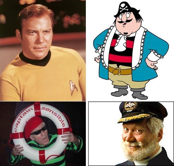 Captain's Kirk, Pugwash, Sensible and Birdseye. I'll let the readers decide which of Hebden Bridge's four team captains these fellows should represent. Answers and reasoning in the comments box at the end of this post please!