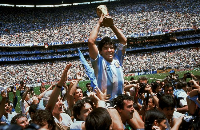 Halifax Captain Carlos Velosa was at least as happy as Diego Maradona was in 1986 as his team lifted the title last Monday. Did his team carry him round the car park at Belgrave though?