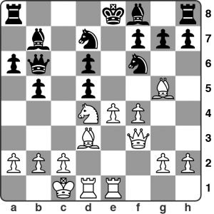 December: Webb vs. Guramishvili, London Chess Classic FIDE Open. It's White to play. He's sacrificed a piece on d5 to open the e-file. How should he proceed to capitalise on that. This is straight out of the opening book so anyone wanting to play the Najdorf needs to know this idea!