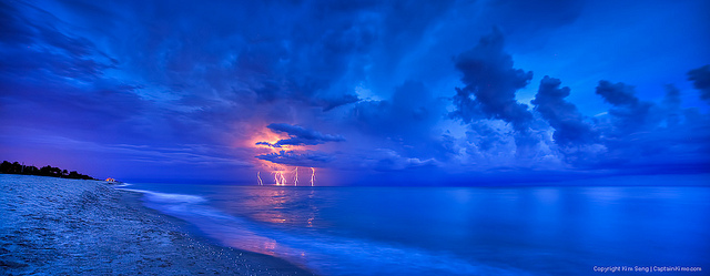 This is my annual excuse to find a beautiful photograph of lightning! This year's is by Kim Seng. It is used under Creative Commons terms and sourced from Kim Seng's Flickr photostream.