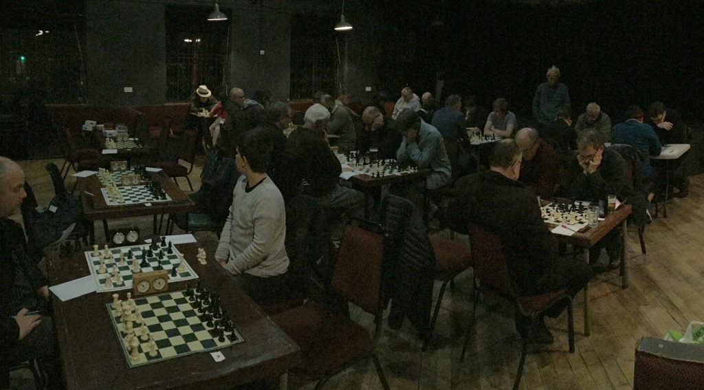 Let battle commence! It was great to see the Trades Club packed for round 1 of the CIC