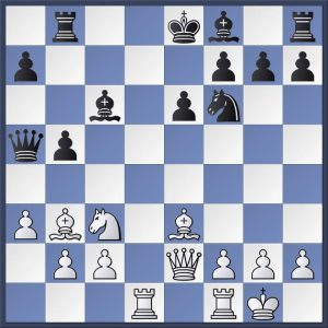 This position from Shapland vs. Wells, Blackpool Congress was considered in our Analysis Evening earlier this summer. It's White to play. What would you do here? Find out the best move in the game viewer at the end of this post.
