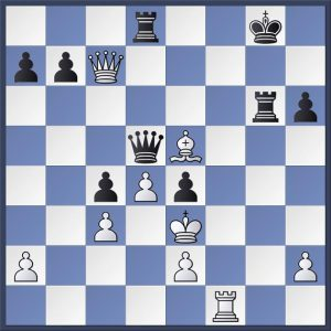 Aronian vs. Grischuk, Sinquefield Cup 2018. Black's king is open but it isn't easy to apply the finishing touch. How did Aronian proceed here?