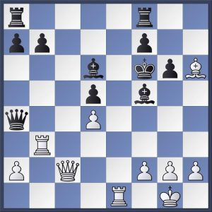 D.Paravyan vs. S.Golubov, Korchnoi Memorial 2018 (Round 6). White to play his 23rd move. What would you do here?