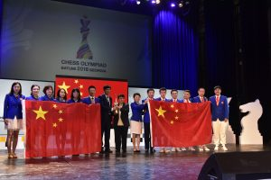 The Chinese won both the Open and Women's sections in Batumi. A rare and outstanding achievement.