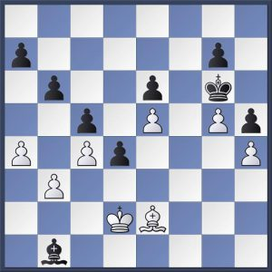 Dickinson vs Gledhill. Black to move. Can you find the correct winning method? Answer in the game viewer at the end of this post.